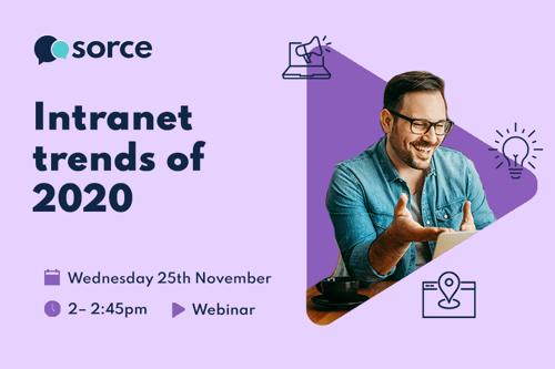 Intranet trends of 2020 webinar 25th November